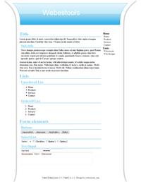 Web Design 30 - Design blue web 2.0 blue and white, sober web 2.0, blue and white web 2.0